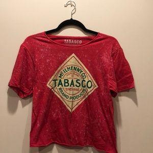 Tops - Vintage Vibe Tobasco Crop T 🌶